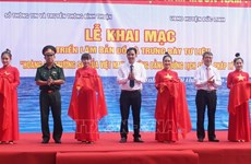Hoang Sa, Truong Sa exhibition underway in Binh Thuan