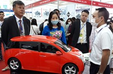Support industry fair underway in Hanoi