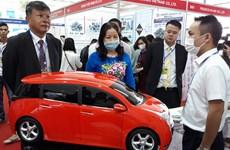 Support industry fair underway in Hanoi