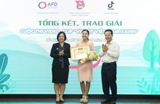 "Winners of ""For a Green Vietnam"" video contest announced"