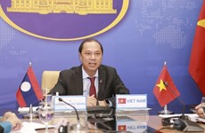 Deputy ministerial-level Vietnam-Laos political consultation held