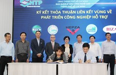 Regional cooperation to develop supporting industries