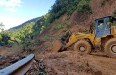 Another body of landslide victims in Quang Nam recovered