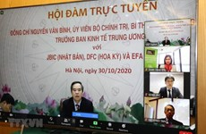 Vietnam seeks to boost economic ties with Japan, US, Australia