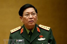 Vietnamese, Russian Defence Ministers hold phone discussion