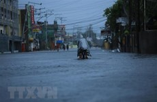 At least 10 killed, 390,000 displaced as Typhoon Goni hits Philippines