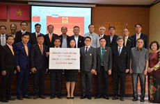 Overseas Vietnamese supporting flood victims