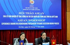 ASEAN workshop: Public role in policy making on table