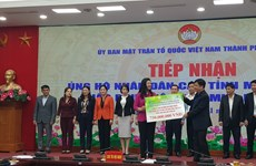More donations from Hanoi for flood victims in central region