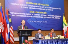 Justice ministry hosts online ASEAN Law Forum 2020