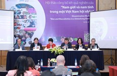 Vietnamese men in cities more open to sharing housework with women: report