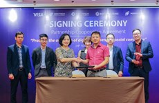 Visa, NextTech Group sign three-year partnership