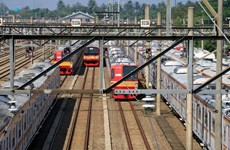 Indonesia's railway operator records 163.6 mln USD loss in September