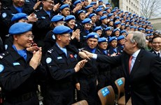 Vietnam hails role of UN police in peacekeeping missions
