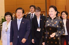 Korean top legislator wraps up visit to Vietnam
