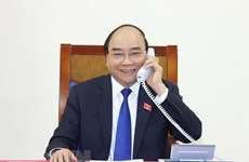 PM holds phone talks with Thai counterpart