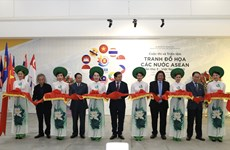 Third ASEAN Graphic Arts Competition - Exhibition draws 345 works
