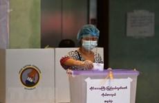 General election begins in Myanmar