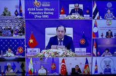 Senior officials review preparations for 37th ASEAN Summit, related events