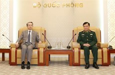 Deputy Defence Minister receives Chinese Ambassador