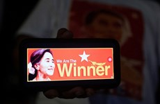 Myanmar elections: Aung San Suu Kyi wins parliamentary seat