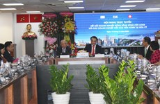 Overseas Vietnamese entrepreneurs helpful in promoting exports to US: teleconference