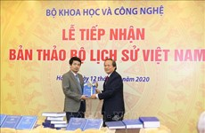 Science ministry receives draft Vietnamese history