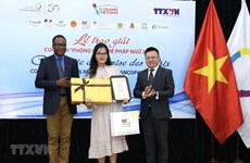 "Award ceremony for ""Young Francophone Reporters"" competition"