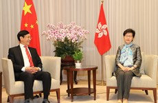 Hong Kong Chief Executive receives outgoing Vietnamese Consul General