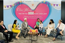 HeartBeat Vietnam funds 8,000 heart operations for disadvantaged children