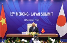 12th Mekong-Japan Summit opens