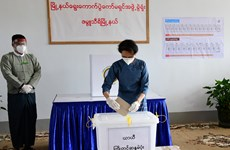 Myanmar's ruling party wins enough seats to form new government
