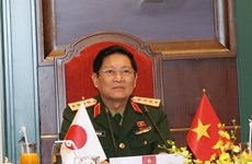 Defence Minister holds phone talks with Japanese counterpart