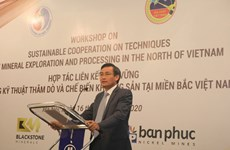 Workshop looks into Vietnam-Australia mineral exploration, processing cooperation