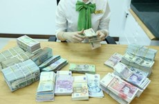 Reference exchange rate down 8 VND at week's beginning