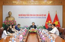 Vietnamese, German parties bolster ties