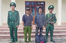 Two Lao citizens illegally entering Vietnam arrested in Dien Bien
