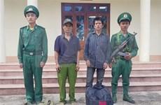 Two Lao citizens illegally entering Vietnam arrested in Dien Bien