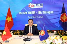 ASEAN energy ministers, IEA gather at online dialogue