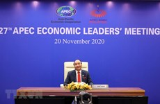 27th APEC Economic Leaders' Meeting opens