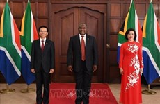 South African President hopes for ties with Vietnam to grow