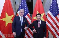 Deputy PM Pham Binh Minh holds talks with US Security Advisor