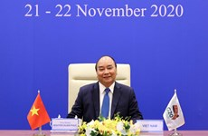 PM Nguyen Xuan Phuc attends virtual G20 Summit