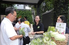"""Organic Town – GIS Market"" opens in HCM City"