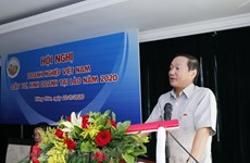 Vietnamese firms in Laos gather to propose measures against difficulties