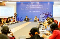 Dialogue discusses strengthening wildlife legislation in Vietnam