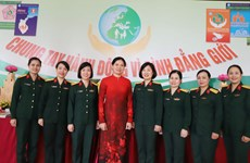 Rate of female military officers up in last five years