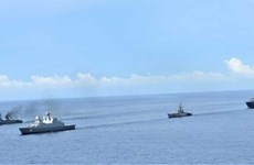 India, Singapore, Thailand kick off trilateral maritime drill