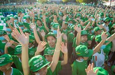 Nestlé MILO holds first Walking Day in Can Tho
