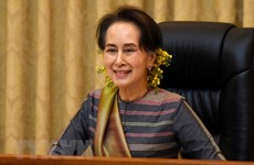 Congratulations to Myanmar's NLD party over election win
